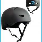 Casque Bluewheel H30 Design noir mat adaptable, 50 - 56 cm et 56 - 62 cm