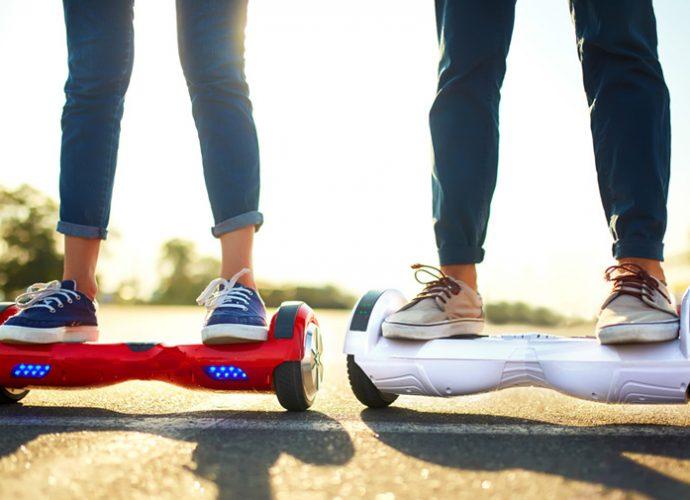 Hoverboard, gyropode, trottinette électrique : quelle réglementation de circulation ?
