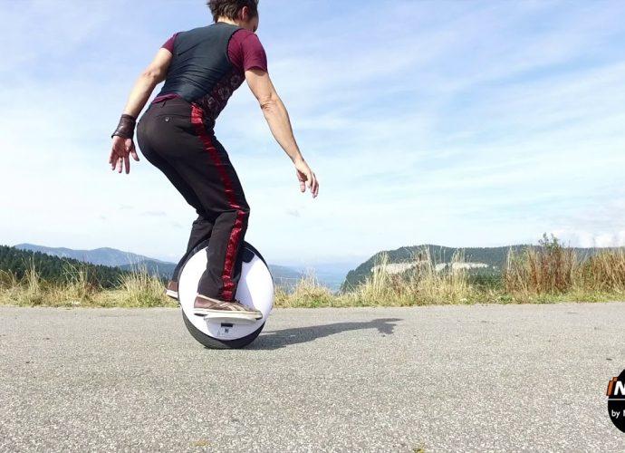 apprendre à faire du monocycle électrique