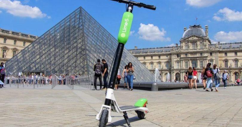 Lime : trottinettes électriques en libre service à Paris