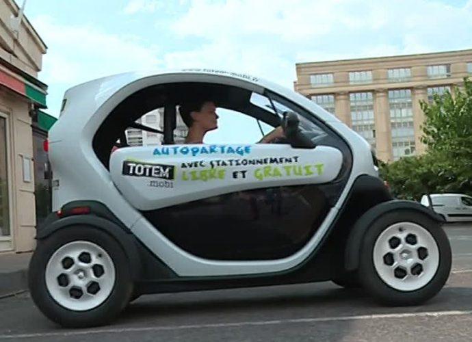 Montpellier : la nouvelle voiture électrique totem mobi en libre-service débarque