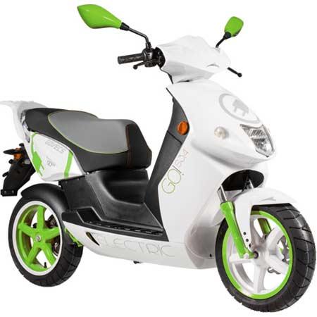 Présentation du scooter électrique