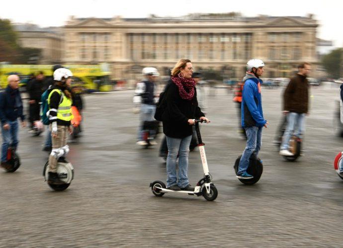 Les appareils électriques dédiés à la mobilité urbaine et la loi