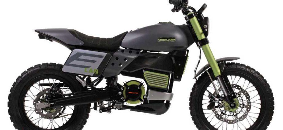 Moto électrique : la Fantic Motor E-Caballero à EICMA 2018