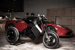 Une moto électrique Française