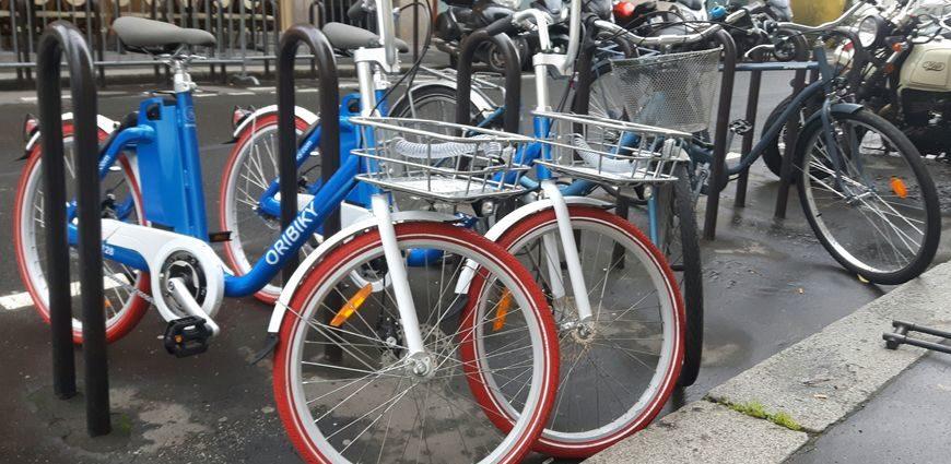 Paris : Oribiky, des vélos électriques en libre-service