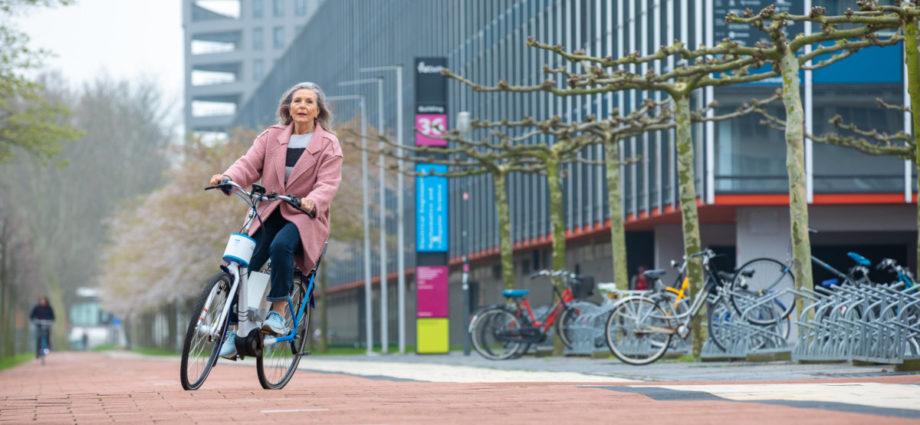 Vous ne tomberez (presque) plus jamais au sol avec ce vélo électrique anti-chute