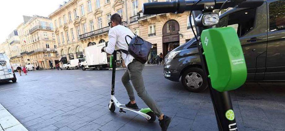 Circuler en trottinette électrique sur un trottoir vous en coûtera bientôt 135€