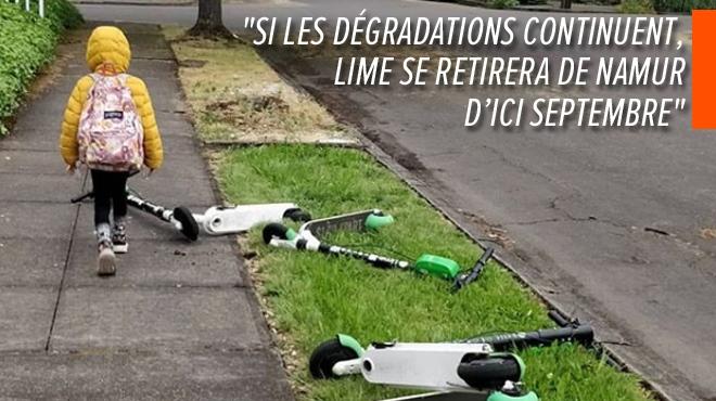 Tom est belge et JUICER pour Lime et dénonce les dégradations