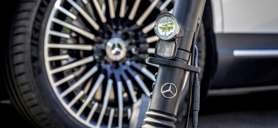 Mercedes e-scooter : une première trottinette électrique pour Daimler