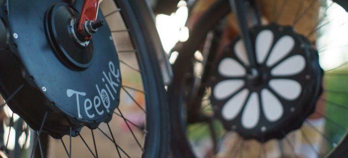 Changez votre roue avant et repartez avec un vélo électrique