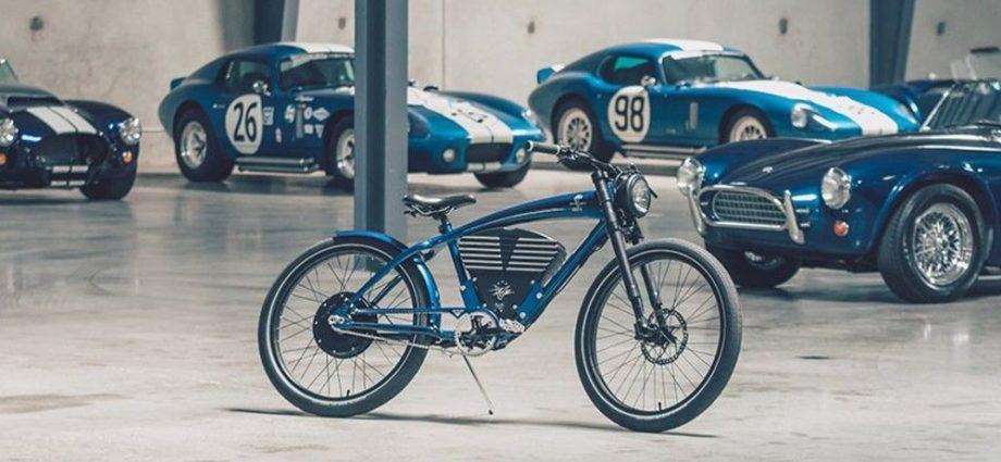 La Shelby Cobra est maintenant un vélo électrique au style néo-rétro