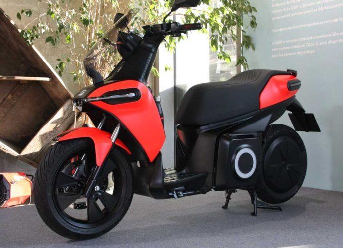 A la découverte du premier scooter électrique de Seat