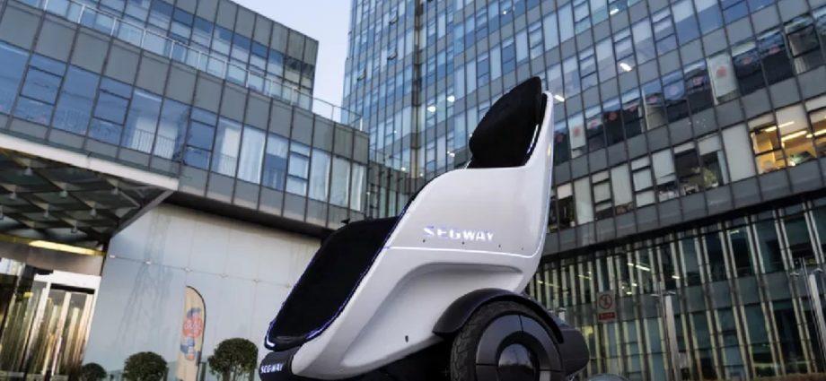 Segway présente S-Pod : un siège roulant auto-équilibré et électrique