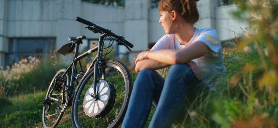 Découvrez la 1ère roue avant électrique de vélo sans câble de TeeBike