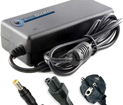 Visiodirect Alimentation Chargeur Compatible avec Trottinette Electrique Go Ride 80 Pro Adaptateur Chargeur 42V 1.5A