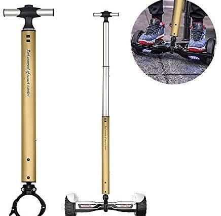 Locisne Barre de poignée de scooter équilibrée en alliage d'aluminium extensible, Guidon de soutien de scooter de levée intelligente, Support électrique de parapente de débutants pour 22cm Scooter