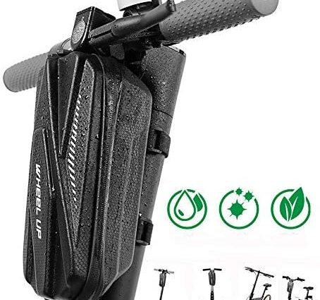 Vihir E Scooter Sac de guidon étanche pour trottinette électrique Eva avec capacité de 2L/3L Idéal pour scooter/scooter/E-Balance Accessoire pour Xiaomi M365 pro Segway Ninebot