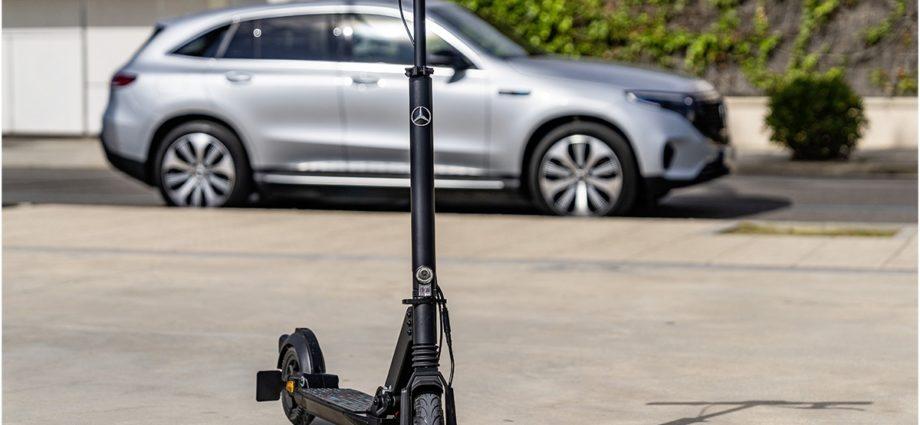 eScooter, la trottinette électrique Mercedes Benz