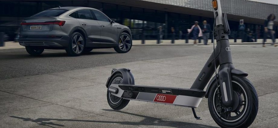Audi electric kick scooter powered by Segway