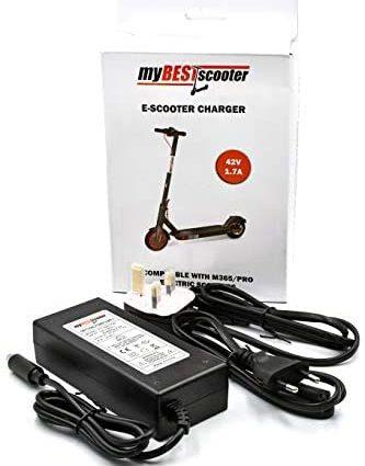 myBESTscooter - Adaptateur de chargeur de batterie pour trottinette électrique Xiaomi M365 Pro.