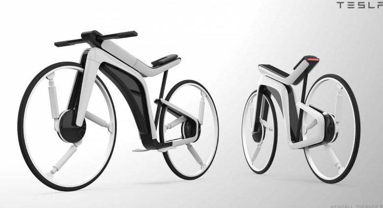 un designer imagine un vélo électrique signé Tesla