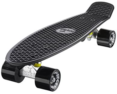 """Mini Cruiser Skate 55cm 22"""" Skateboard Monopatin Ridge Skateboards Complet"""