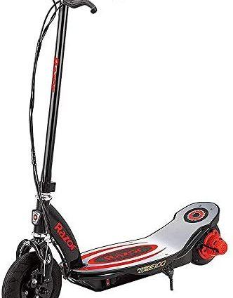 Razor Power Core E100 - Trottinette électrique pour enfant - Rouge