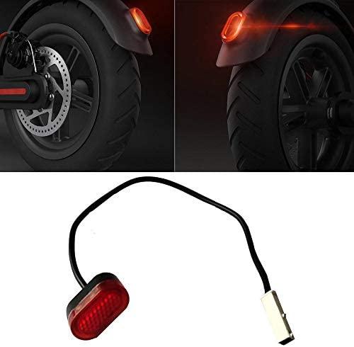 aibiku Feu Arriere, La Lumière Arrière de Queue de LED pour Xiaomi M365 Trottinette Électrique - Pièces de Électrique Scooter