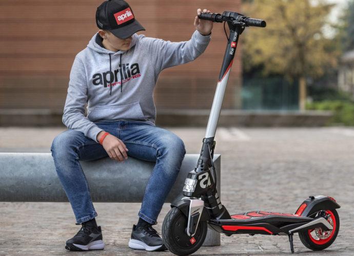 Aprilia dévoile un nouveau 2-roues électrique