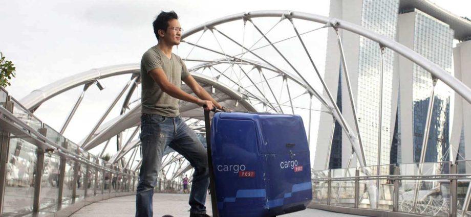 MIMO C1 : une trottinette électrique Cargo 2-en-1