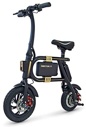 Inmotion P1F Mini-Scooter Mixte Adulte, Noir/Or